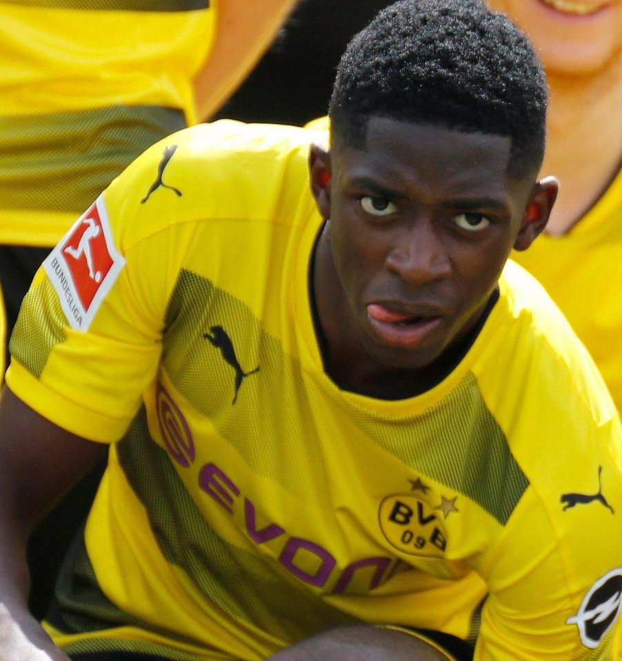 Ousmane Dembele is desperate to move to Barcelona