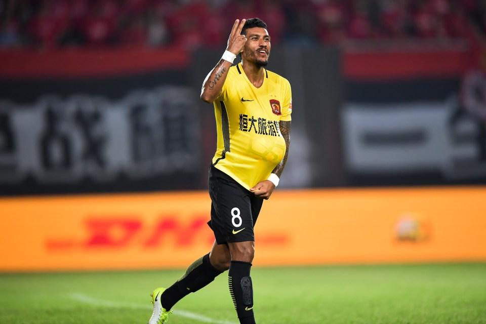 Paulinho has turned his career around in China