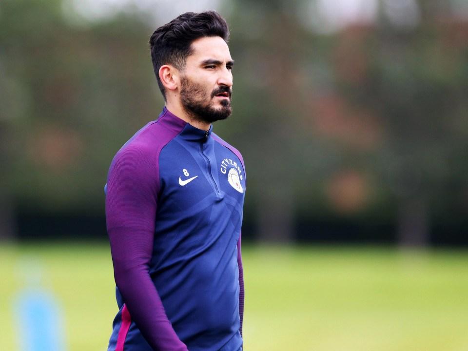 Ilkay Gundogan may be edged ofut if David Silva drops deep