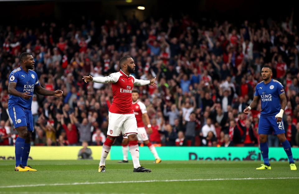 Lacazette celebrated with trademark self-confidence