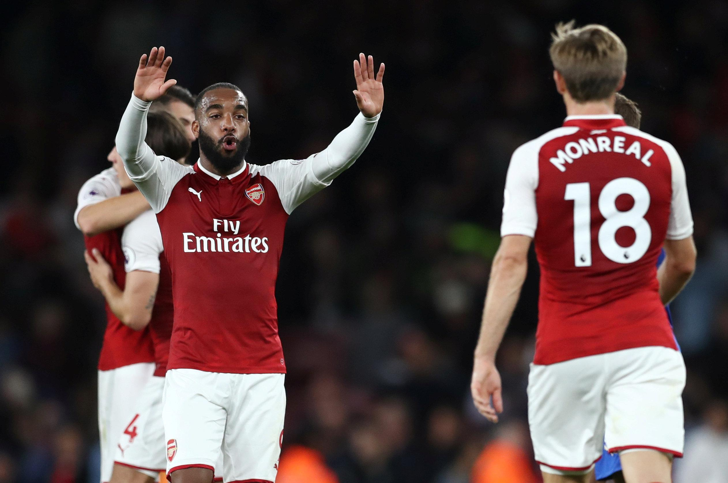 Arsenal new boy Alexandre Lacazette scored the Premier League's first goal of the new season