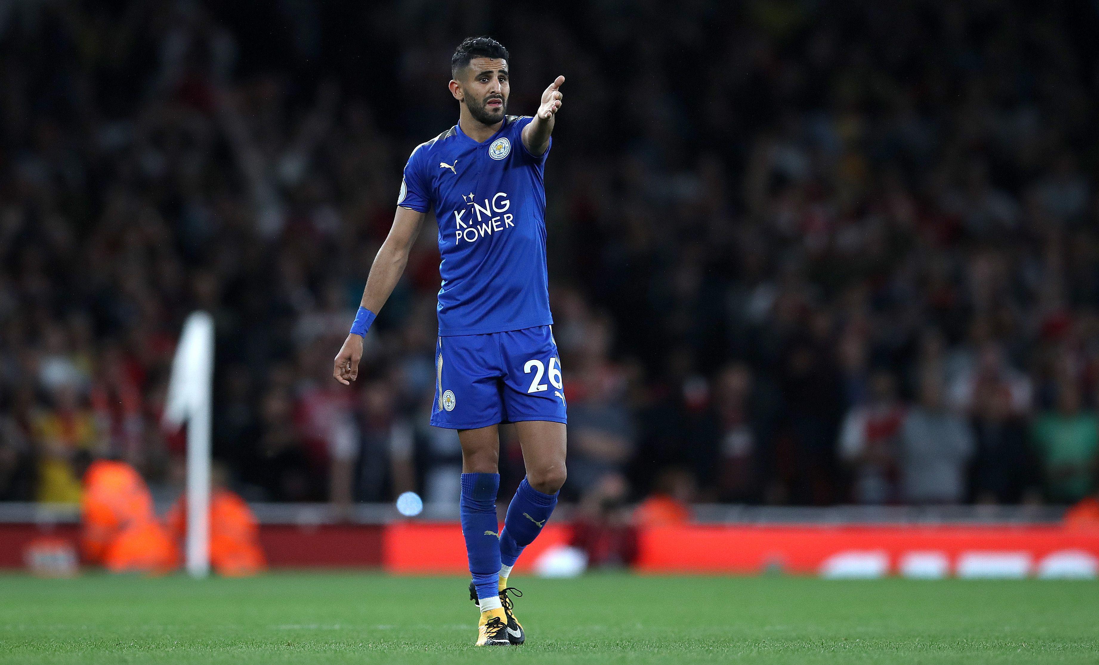 Algeria winger Mahrez is desperate to leave Leicester this summer