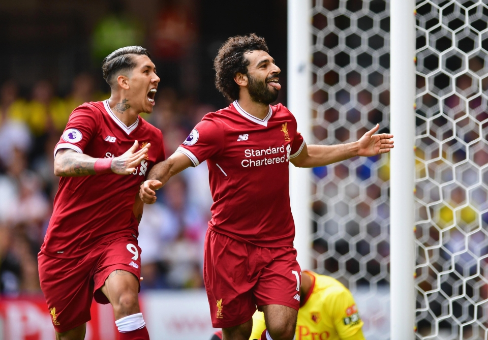 Firmino and Salah have contributed over 70% of Liverpool's goals this season