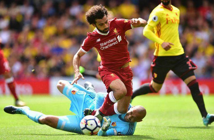 Heurelho Gomes welcomes Salah to the Premier League