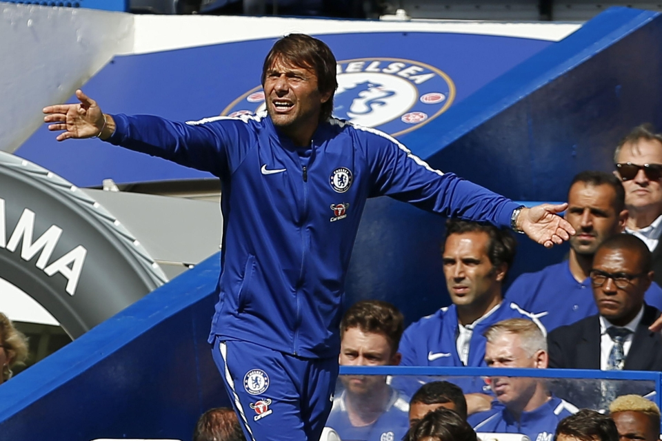 Antonio Conte could not believe what he was seeing out on the pitch
