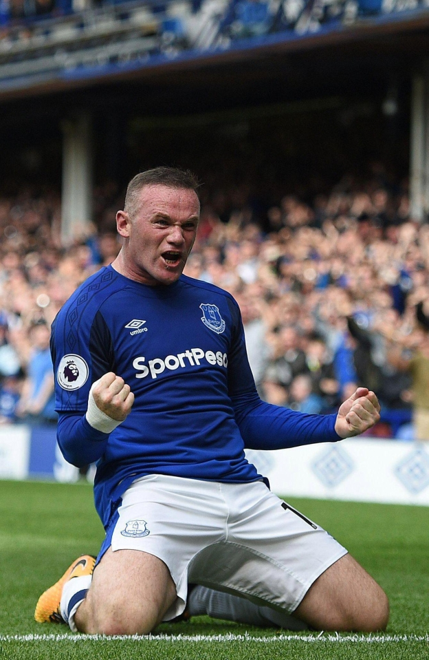 Wayne Rooney has bagged a goal apiece in his two Prem matches so far this term
