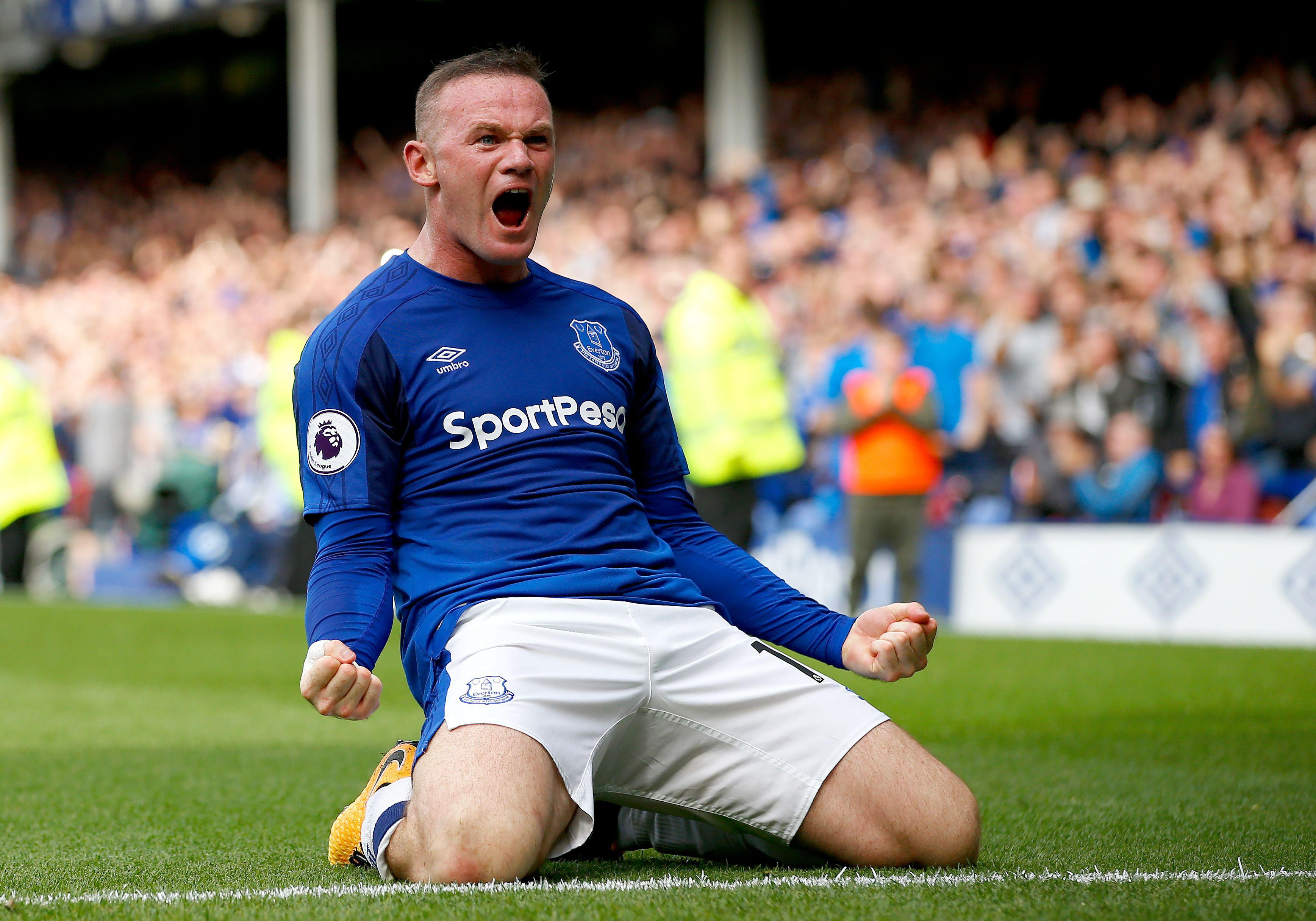 Rooney's has returned to Everton after 13 years away