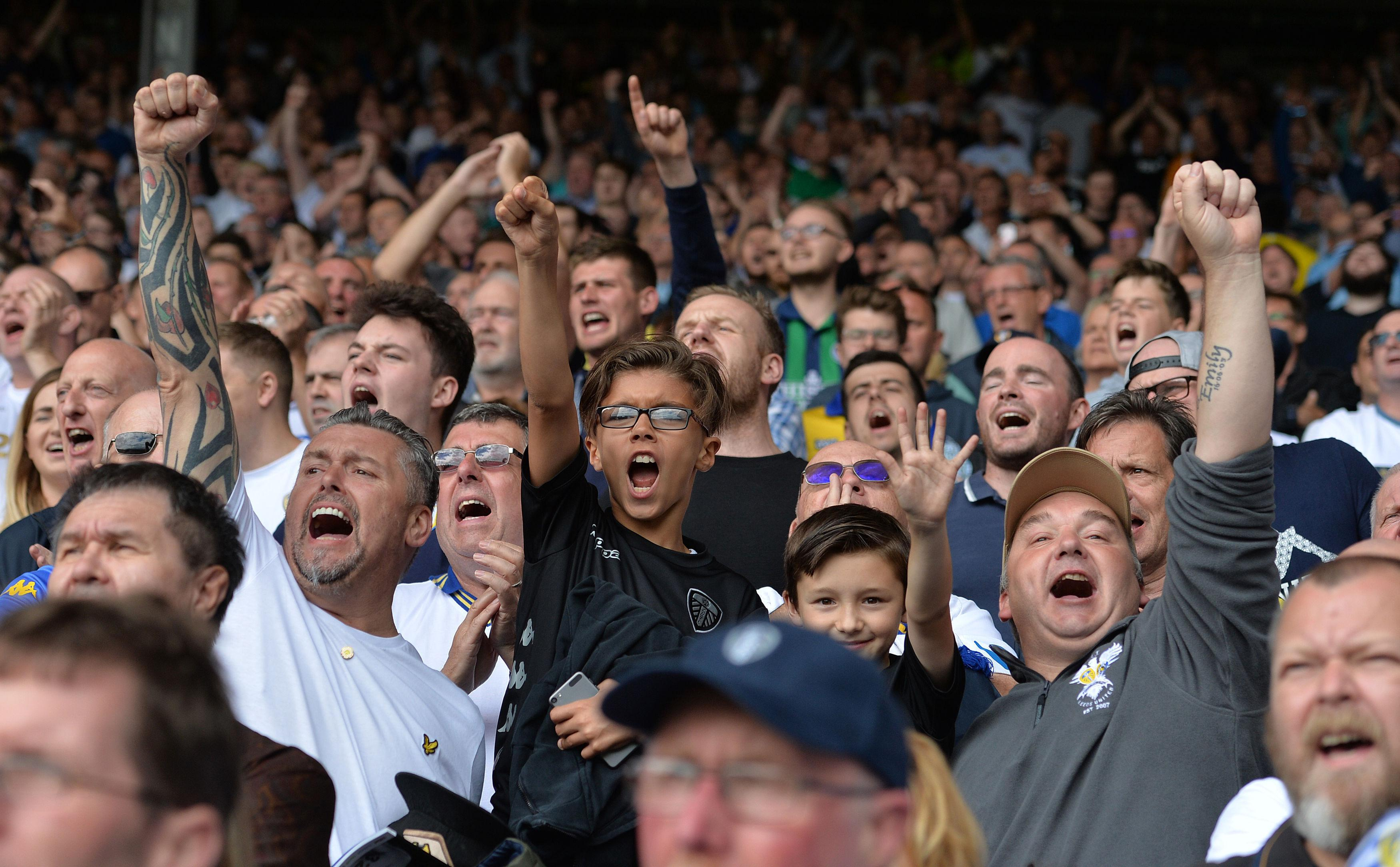 Leeds fans are famous and notorious in equal measure