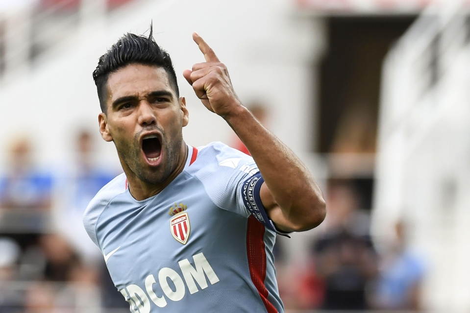 Radamel Falcao has scored in nine consecutive matches