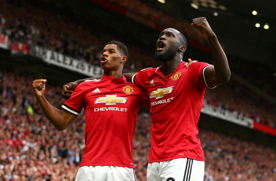 Romelu Lukaku is excited by the partnership he can form with Marcus Rashford
