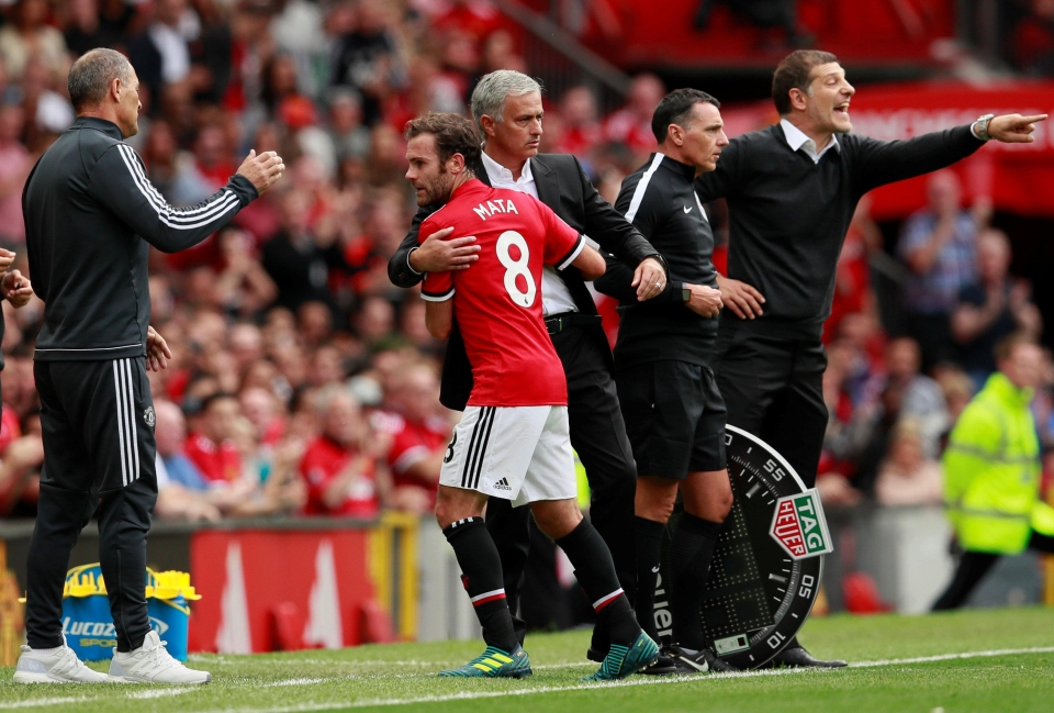 He's a regular for the Special One at Old Trafford