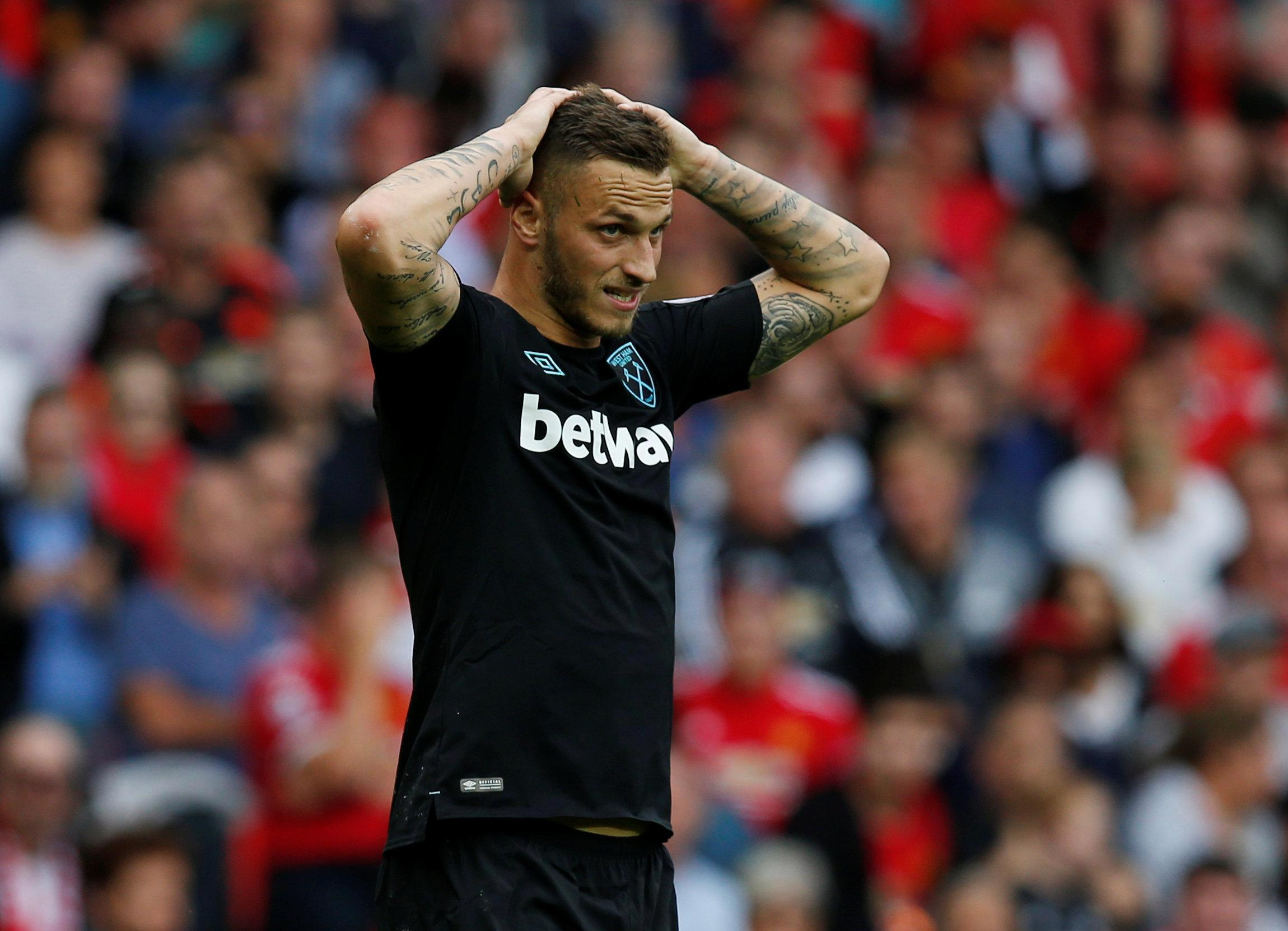 Arnautovic was pretty damning about Stoke when he left