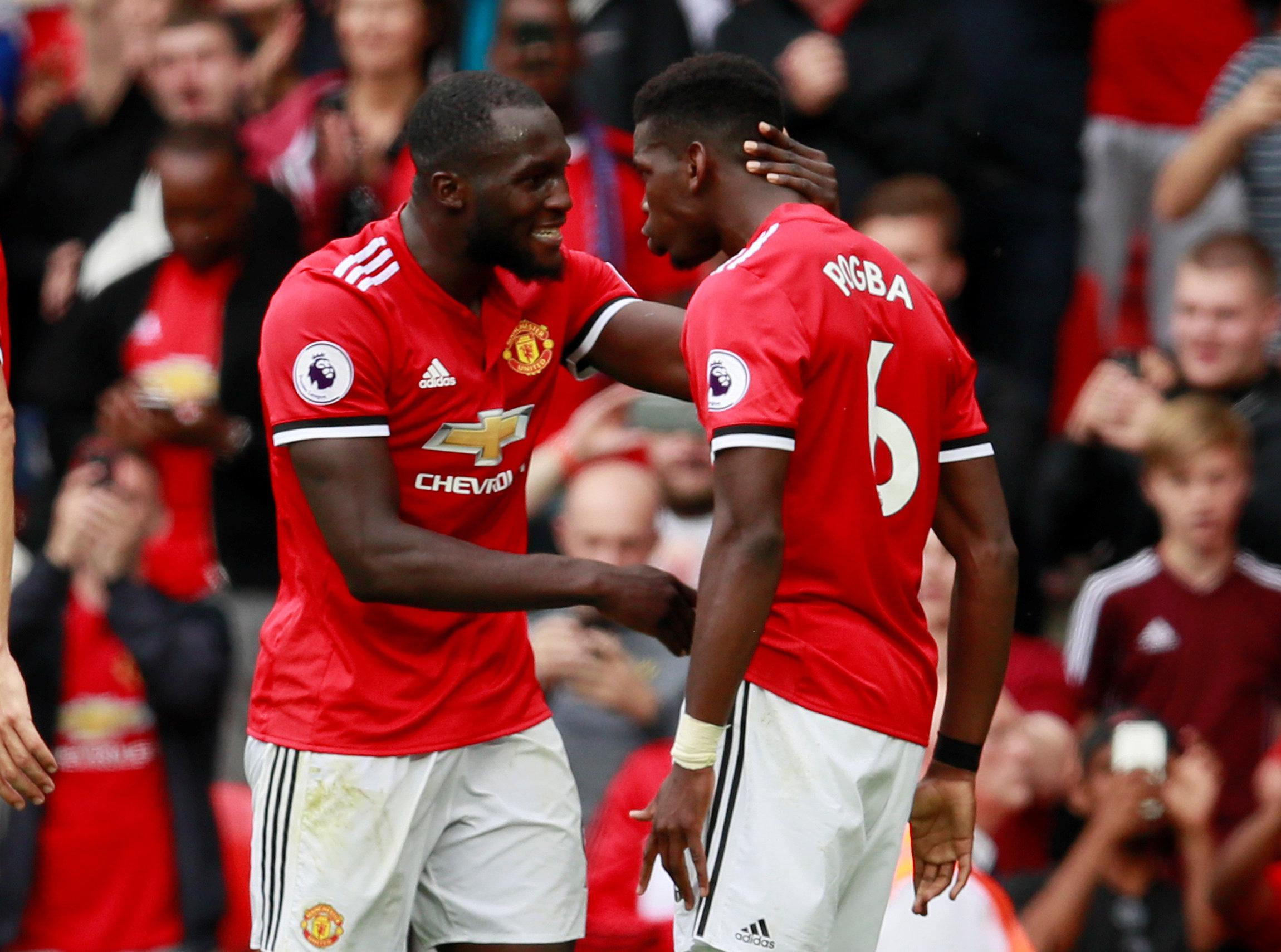 Lukaku and Pogba looked electric together