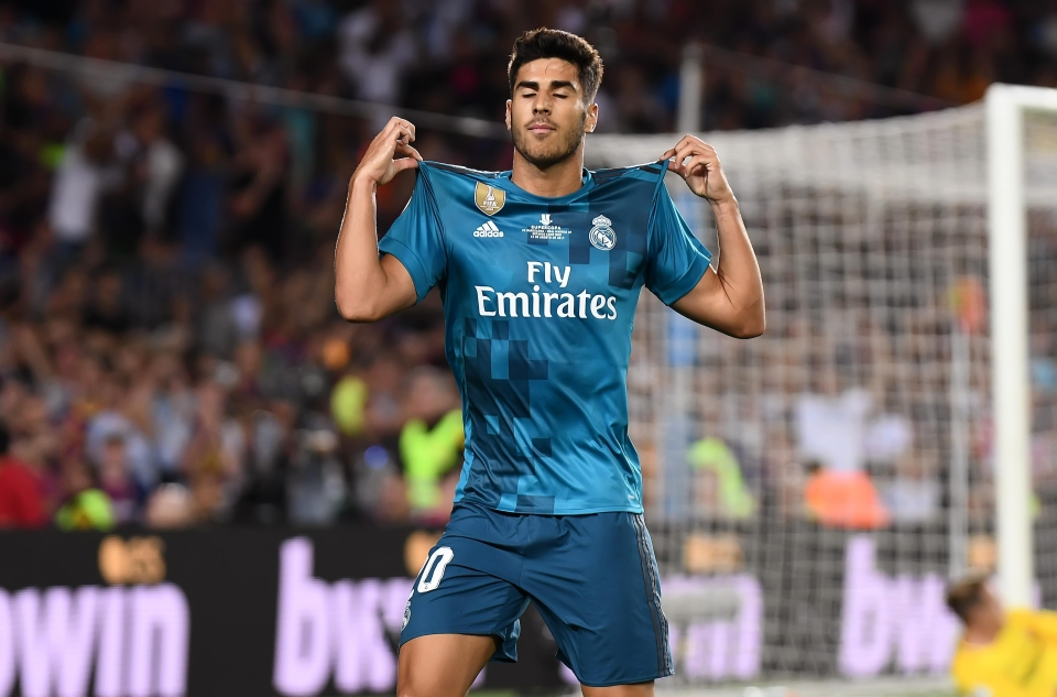 Asensio made it 3-1 with a screamer in the final moments