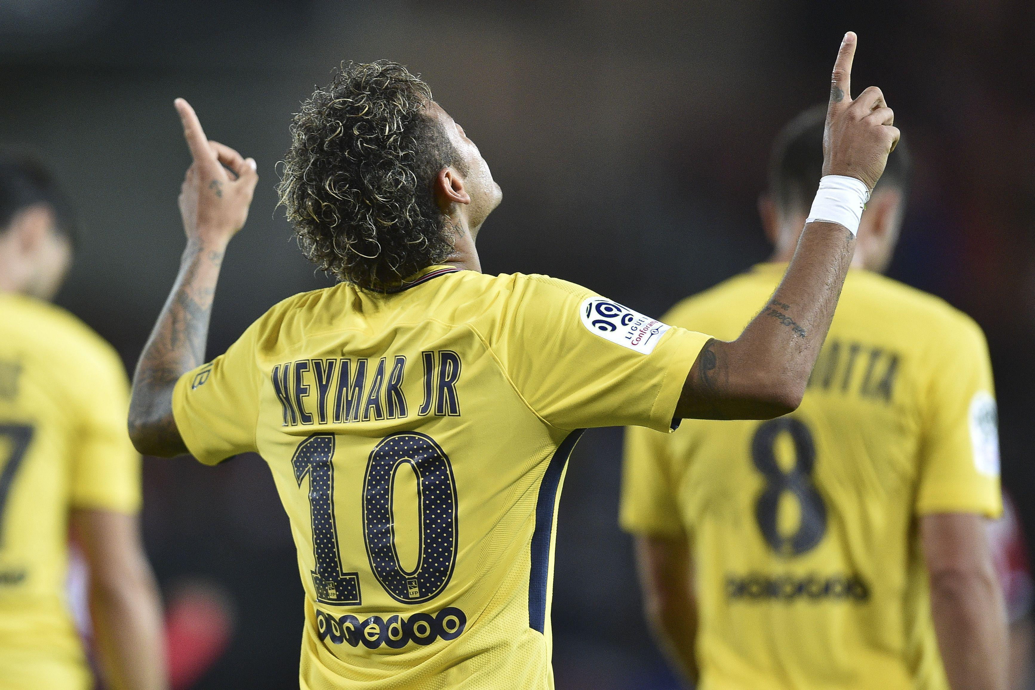 Neymar scored on his PSG debut at the weekend