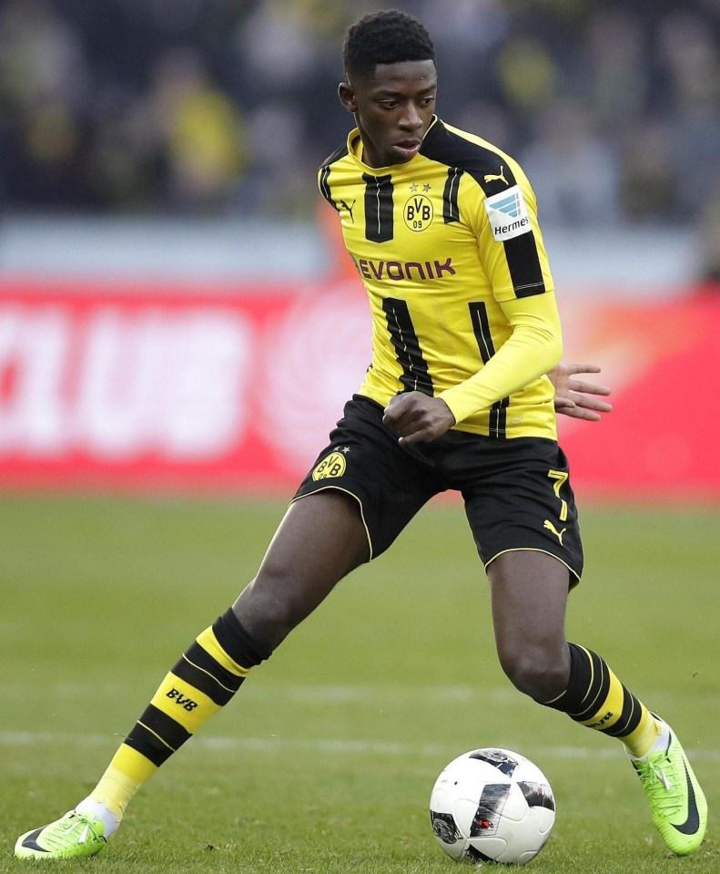 Ousmane Dembele will cost Barcelona £138million