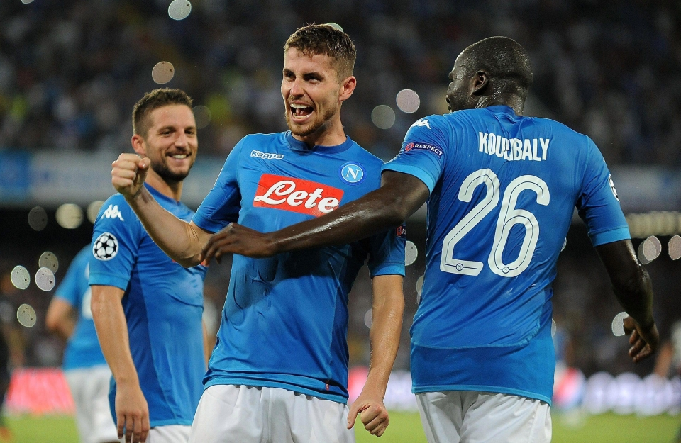 Napoli are one of the most eye-catching teams in Europe