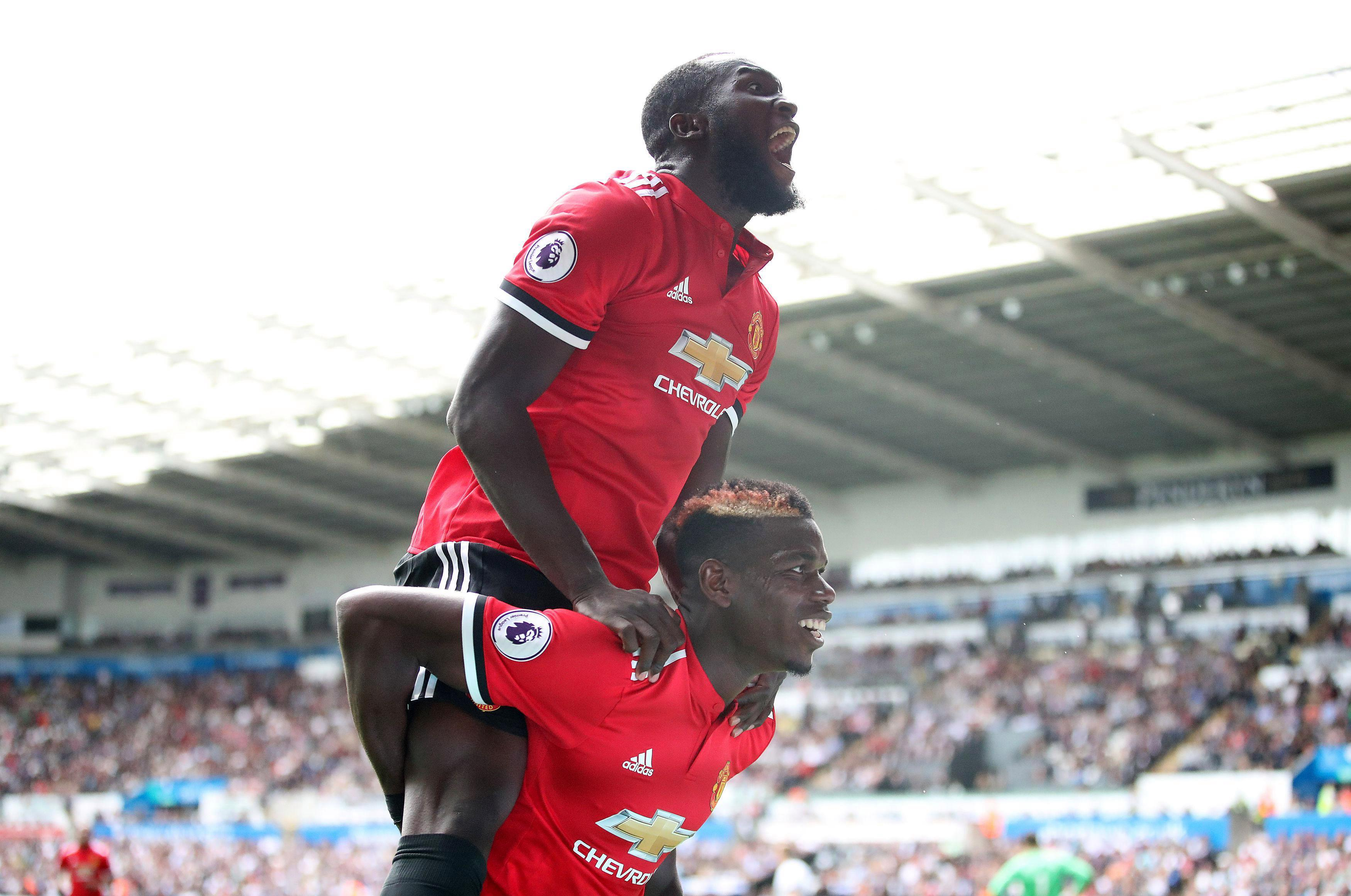 Lukaku and Pogba have struck up an instant rapport