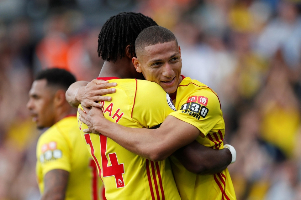 Brazilian Richarlison scored his first Premier League goal at Bournemouth two weeks ago