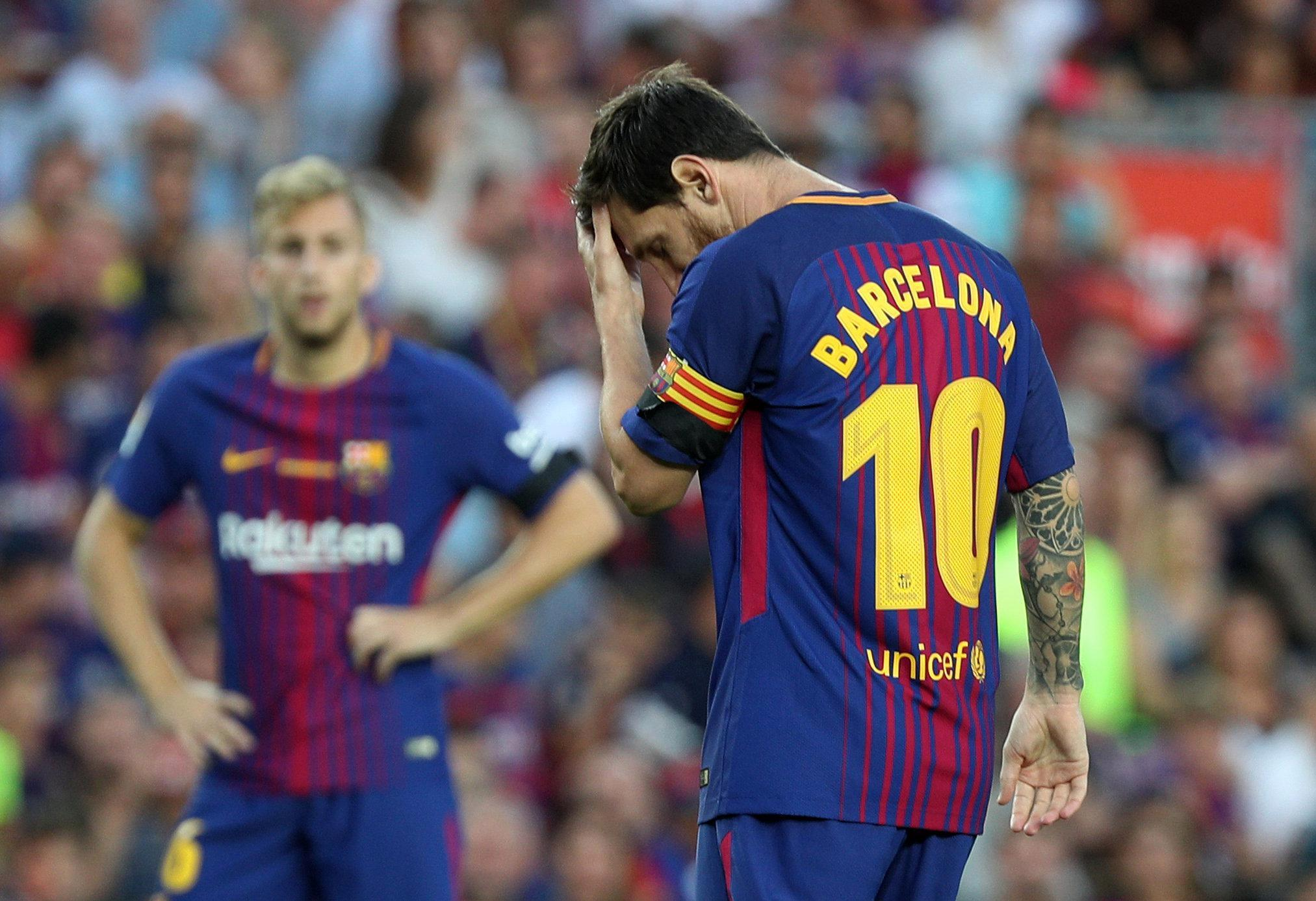 Neymar left Lionel Messi and co earlier this month for PSG