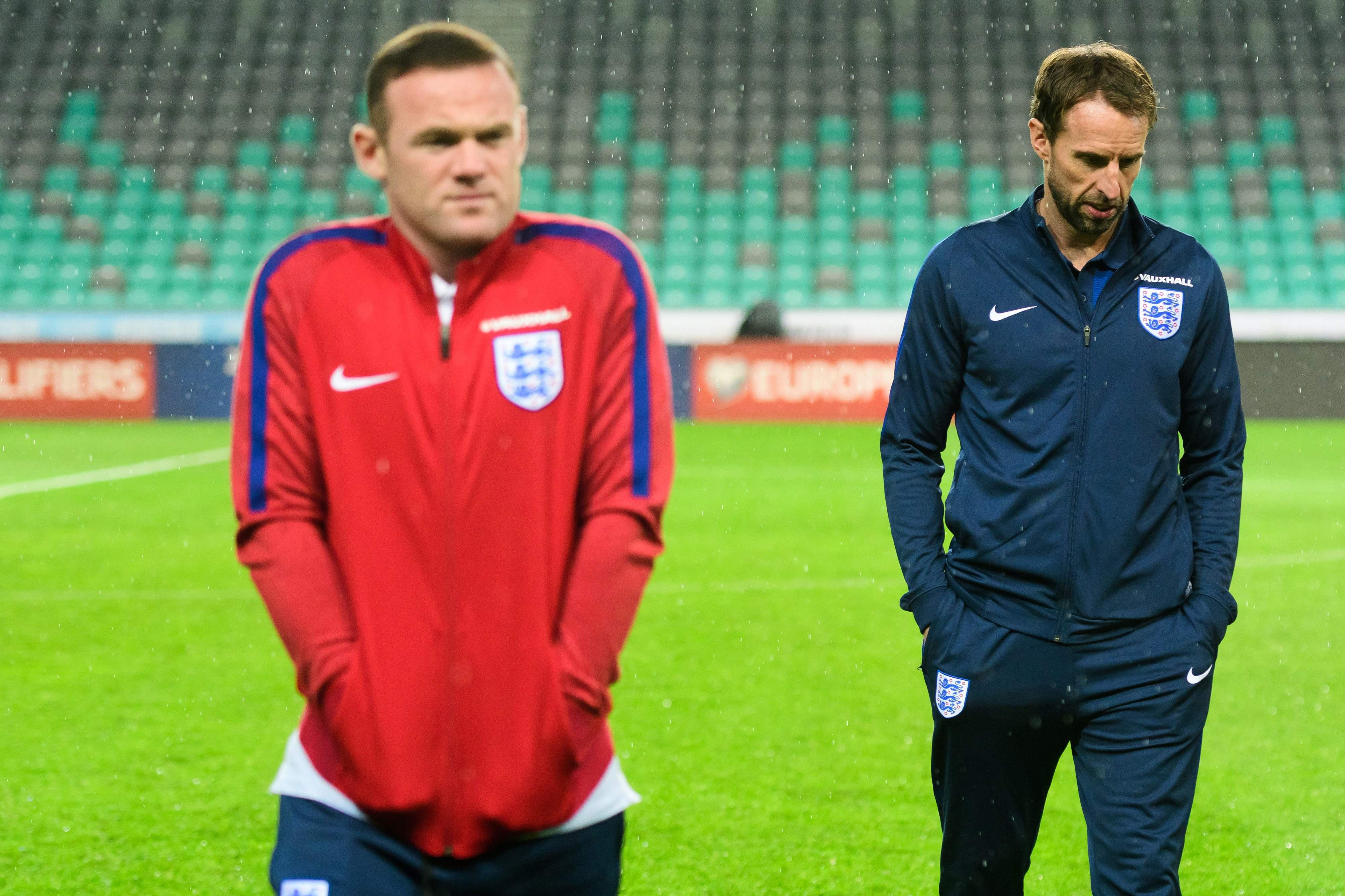 Rooney & Southgate's next album cover