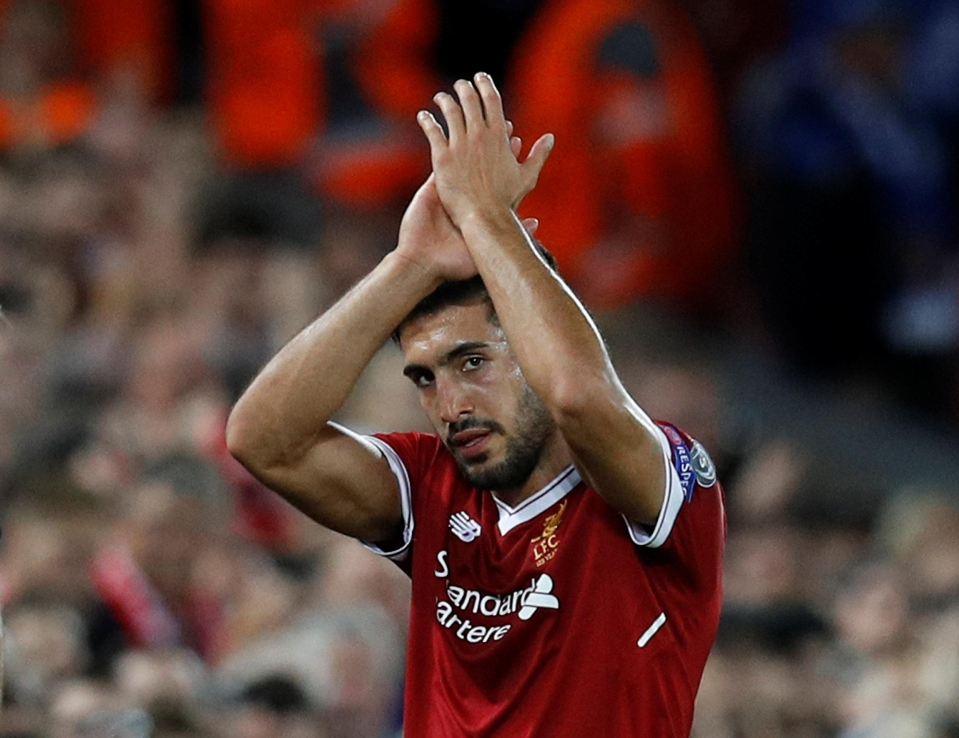 Emre Can managed two goals on the night