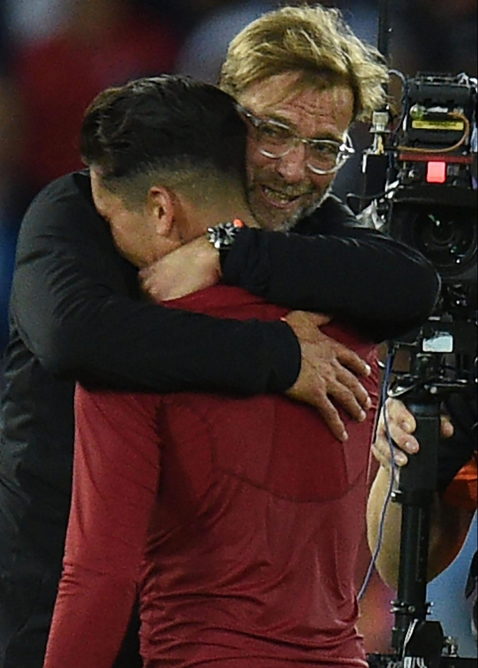 It could all end in glory for Firmino and Liverpool boss Jurgen Klopp