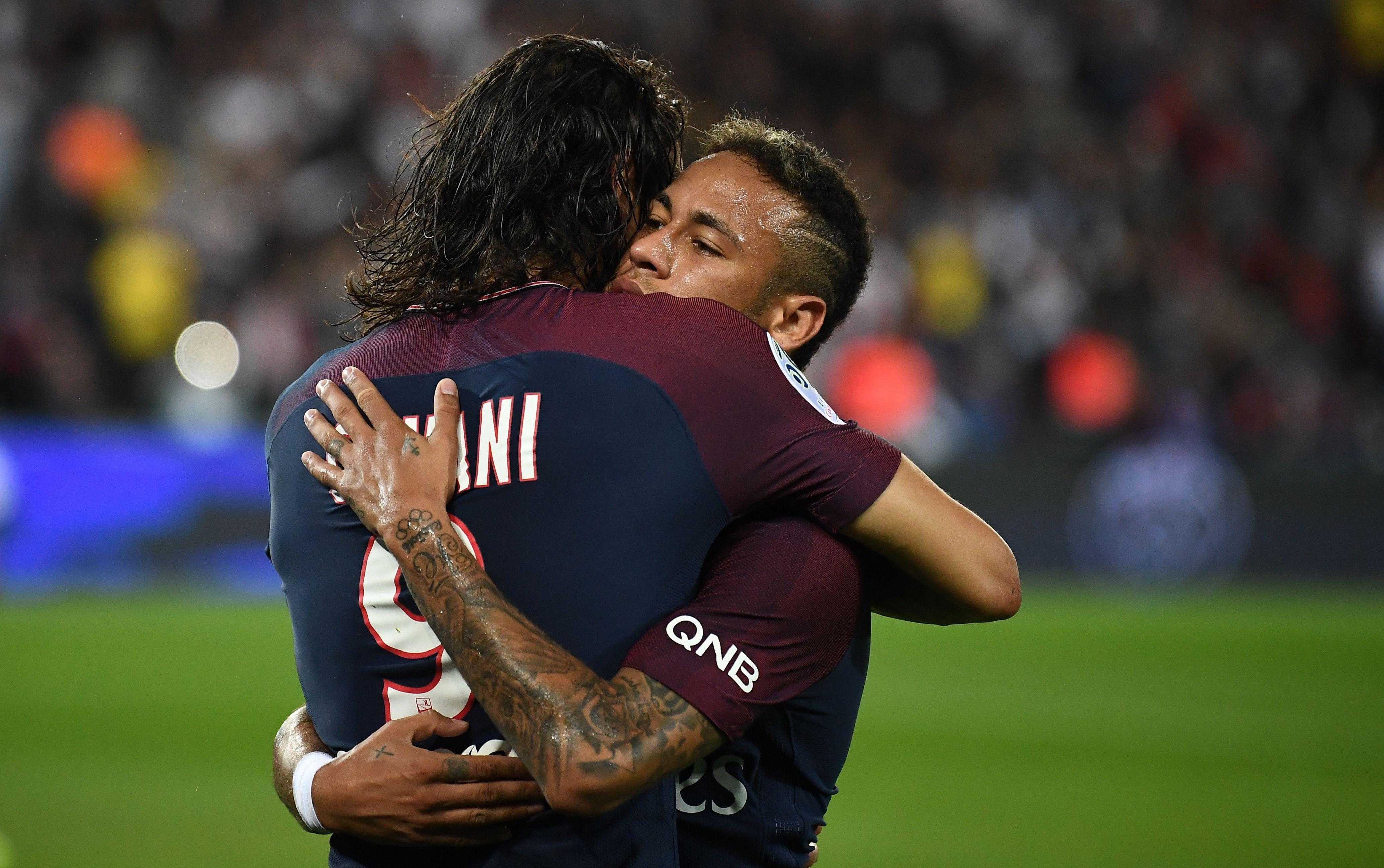 Kylian Mbappe will now join Edinson Cavani and Neymar in the PSG attack