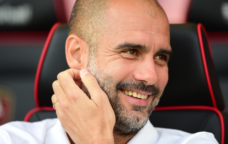 Pep Guardiola knows Aubameyang from his time bossing in Germany