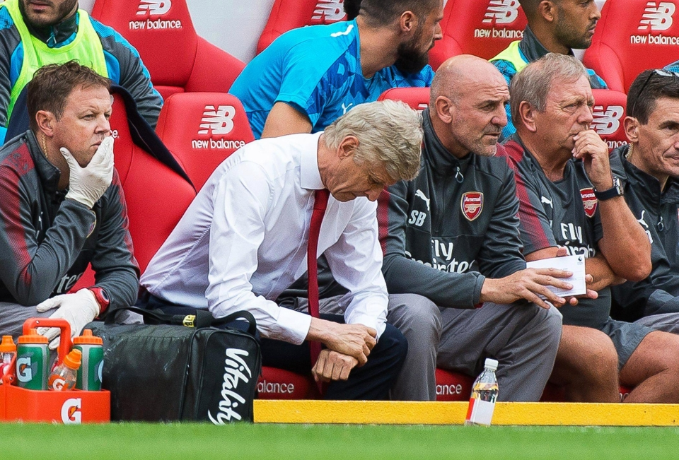 It's been an unhappy week for Wenger and co.