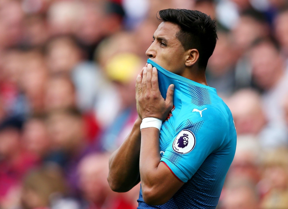 Sanchez is desperate to move to Manchester City