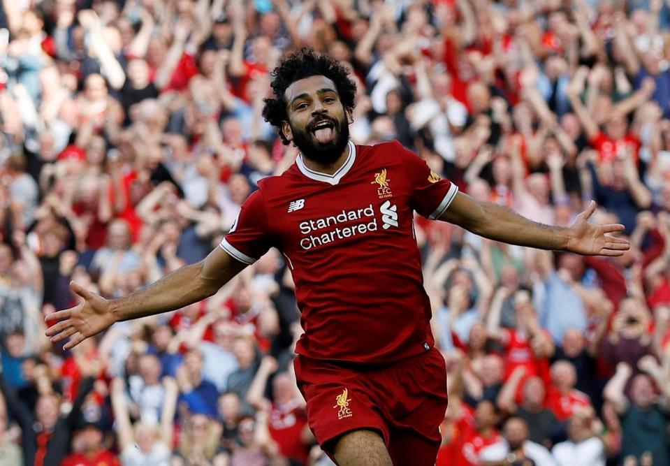 Image result for Salah was named best player EA SPORTS