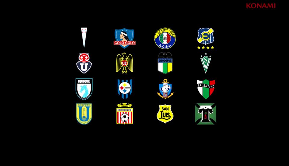Konami have included 16 Chilean teams in PES 2018