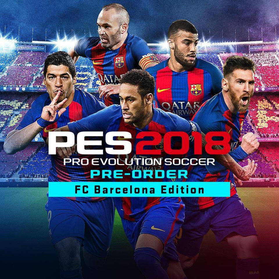 The PES 2018 Barcelona edition cover will no longer feature Neymar
