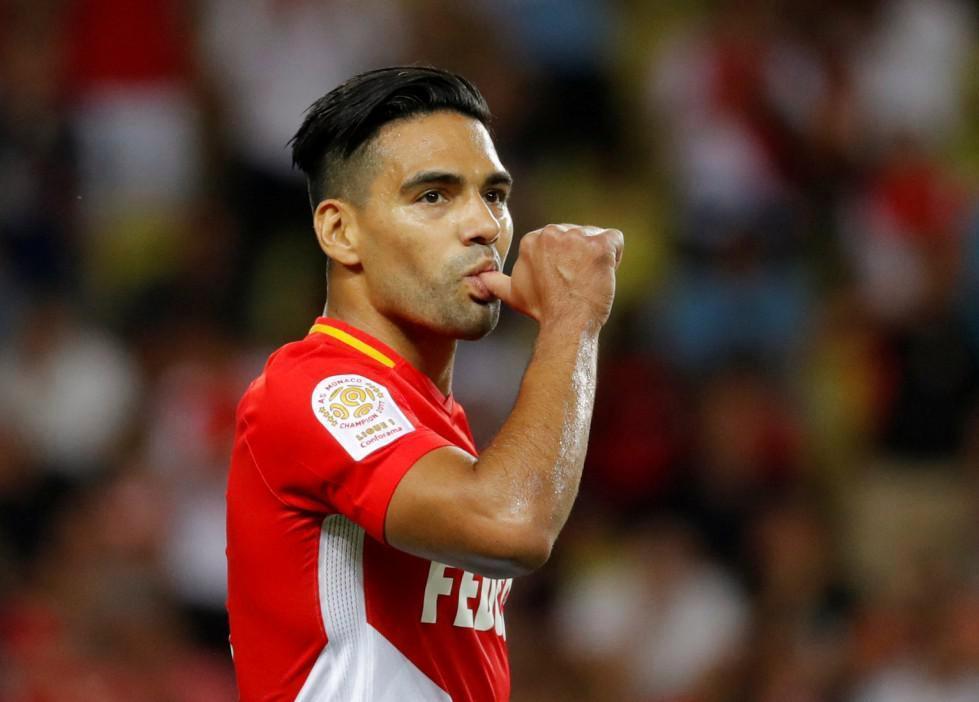 Radamel Falcao scored twice as Monaco prepare to wave goodbye to Kylian Mbappe