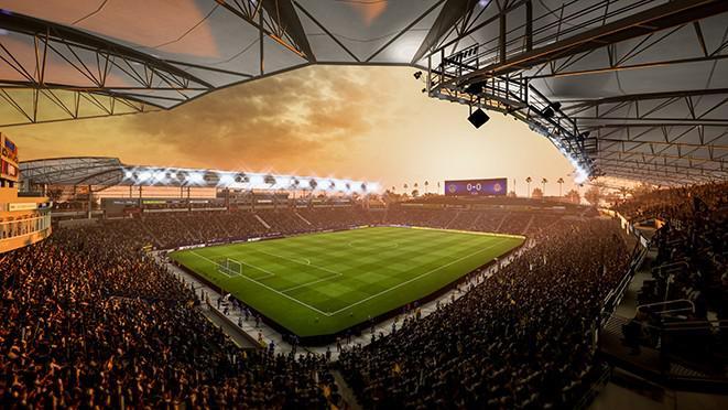 LA Galaxy's StubHub Center will feature in FIFA 18