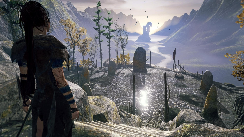 At times you just have to sit back and enjoy the view, such are the quality of Hellblade's visuals