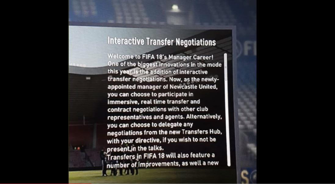 Interactive Transfer Negotiations are a new feature coming this year