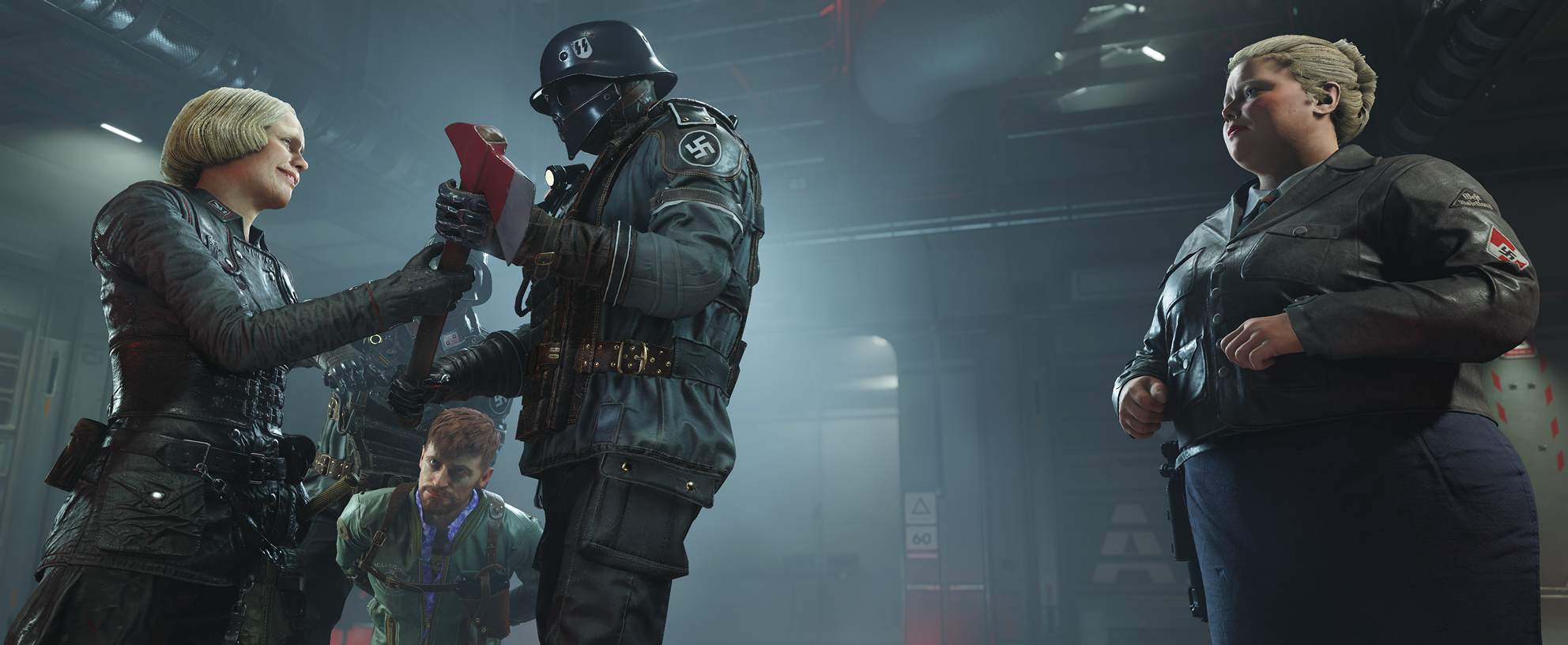 Wolfenstein II looks absolutely stunning in motion – especially on PC