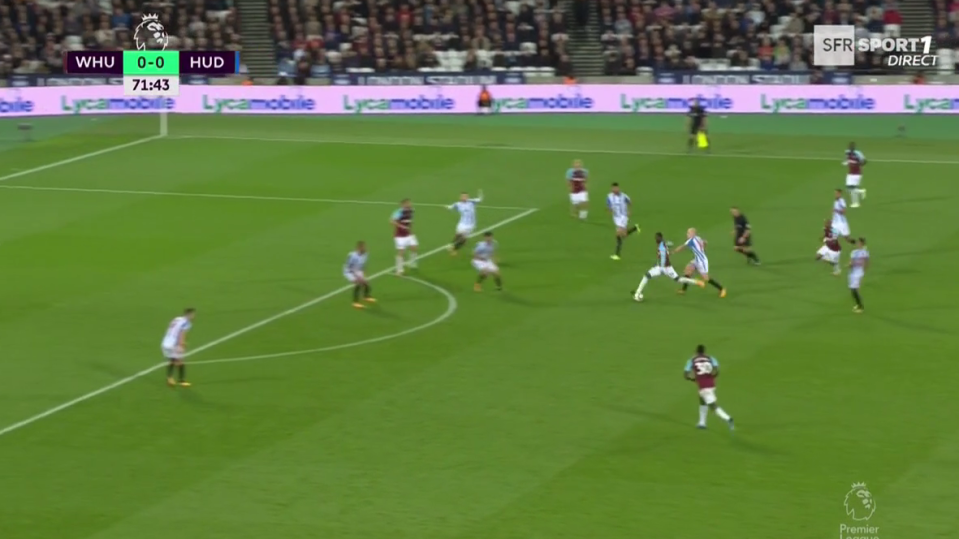 Obiang hits one from range