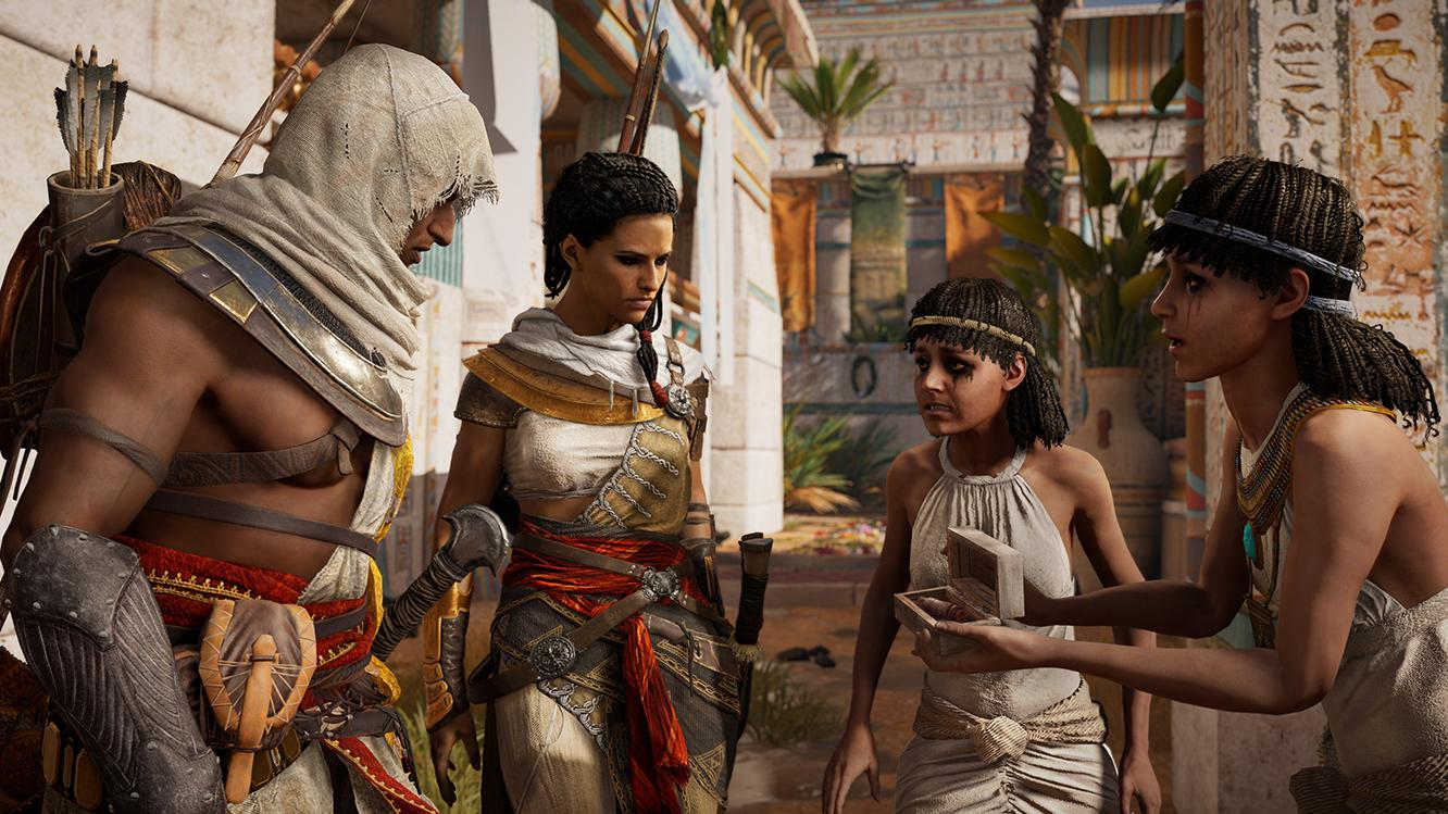 Along the way Bayek will have to solve puzzles and take part in investigations