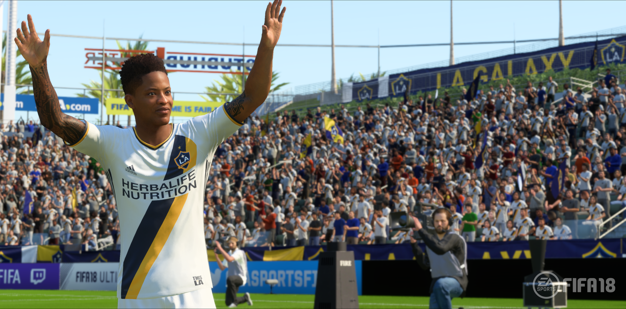 Hunter Returns allows to customise Alex Hunter's appearance