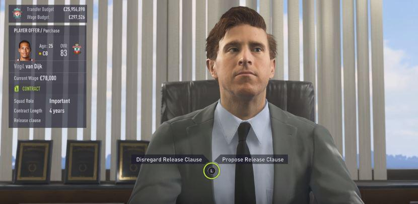 Transfer negotiations are one of the most exciting parts about FIFA 18's Career Mode
