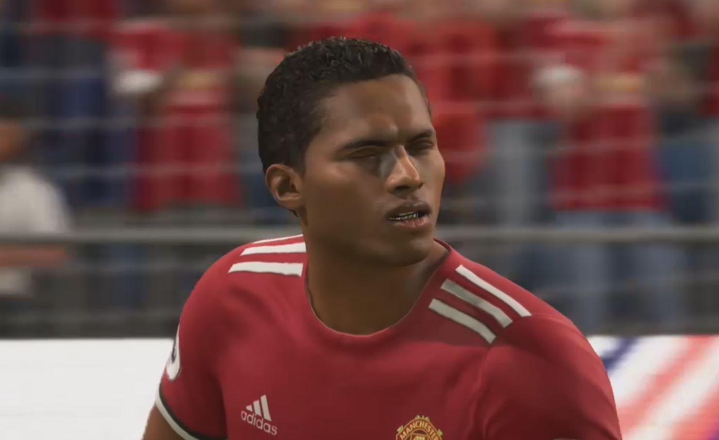 The level of detail in FIFA 18 is quite superb… as this bizarre clip reveals