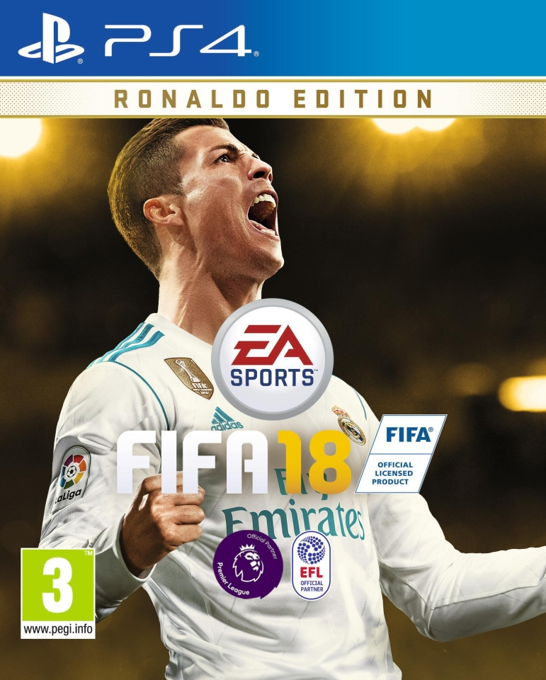 Cristiano Ronaldo was the cover star for FIFA 18 – so where do you go from there?