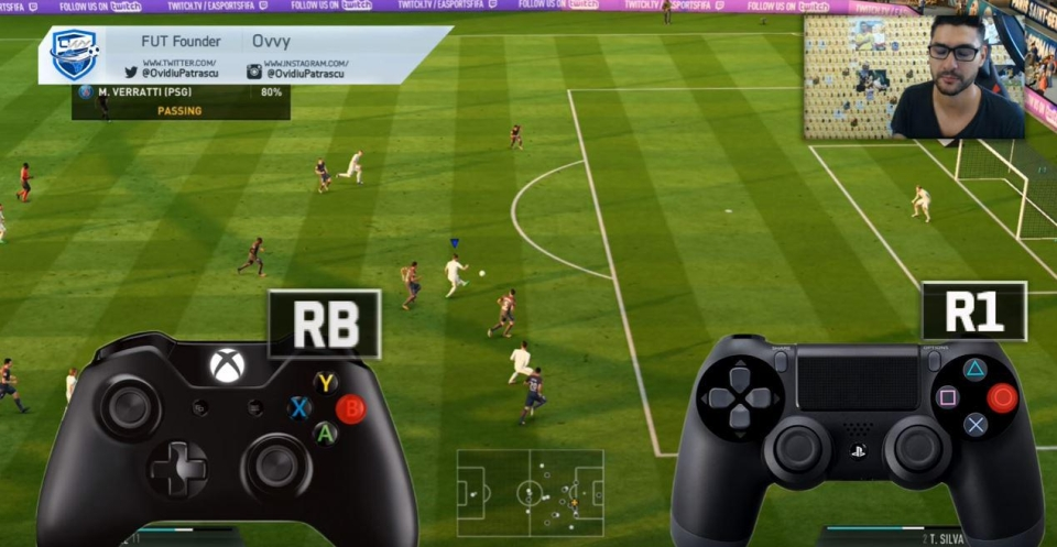 Ovvy believes finesse shots are far too powerful in the FIFA 18 demo