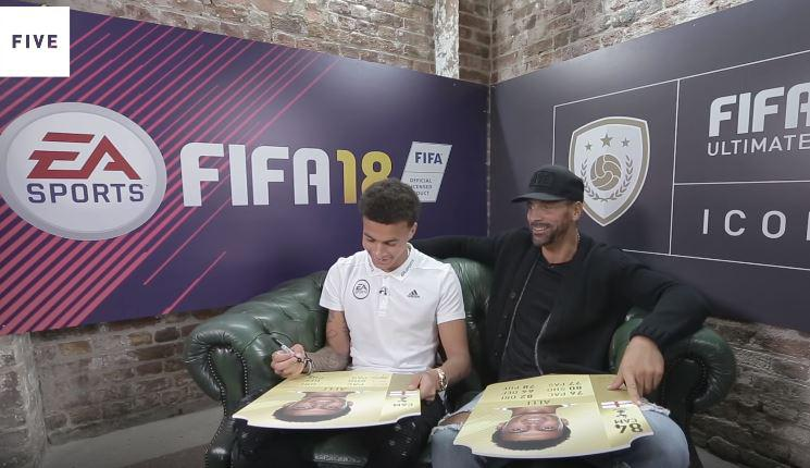 Rio gets the Tottenham star to revise his FIFA 18 scores – and he changes every one of them apart from pace