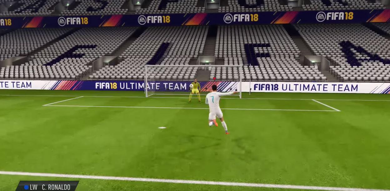The tweaked El Tornado move will set you up nicely for decent shot at goal – and is perfect against an aggressive defence