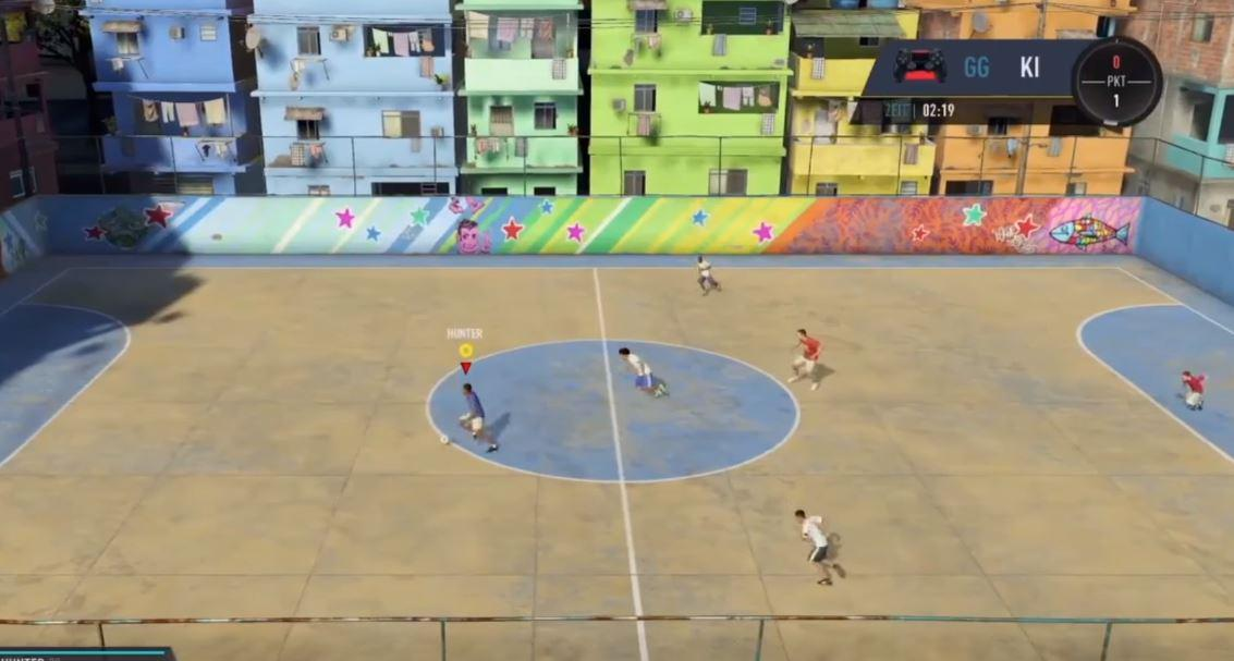The mode will go some way to make up for a lack of a proper FIFA Street this year