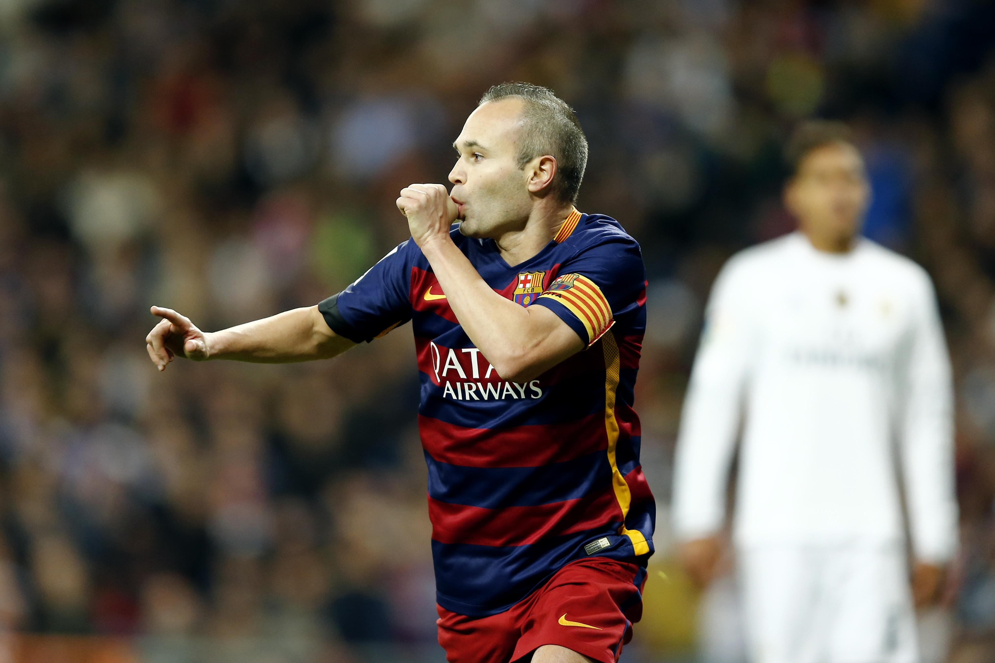 Iniesta was at his brilliant best in El Clasico that year